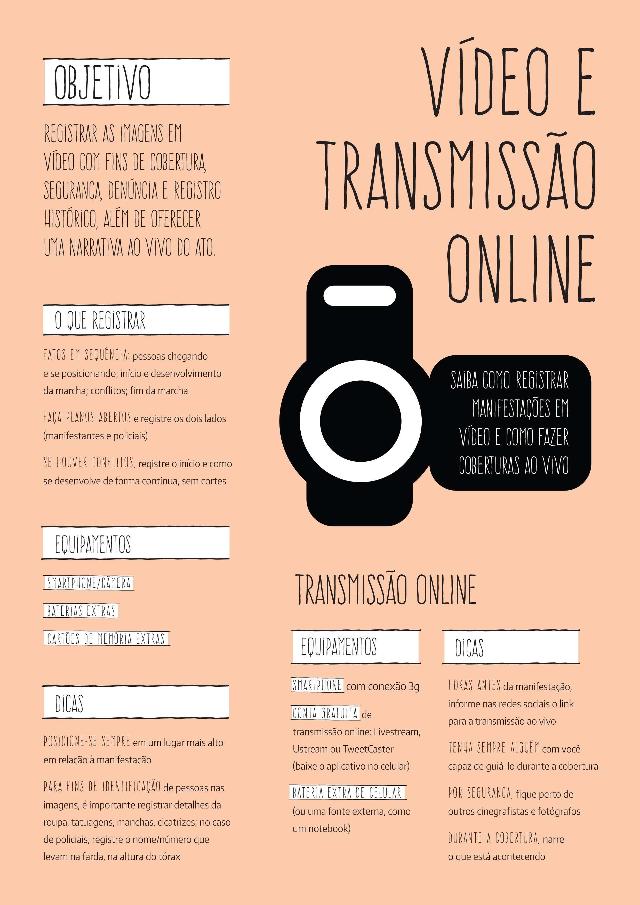 Vídeo e Transmissão Online